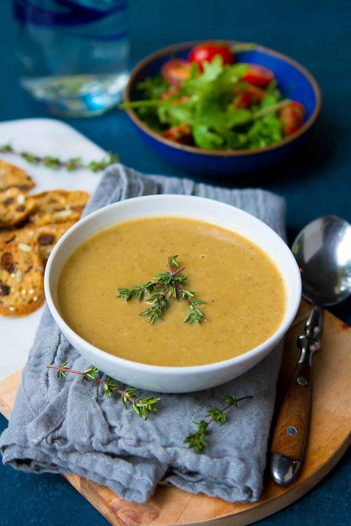 Instant Pot Recipes Vegetarian  Vegan Instant Pot Mushroom Soup Healthy Soup Recipe