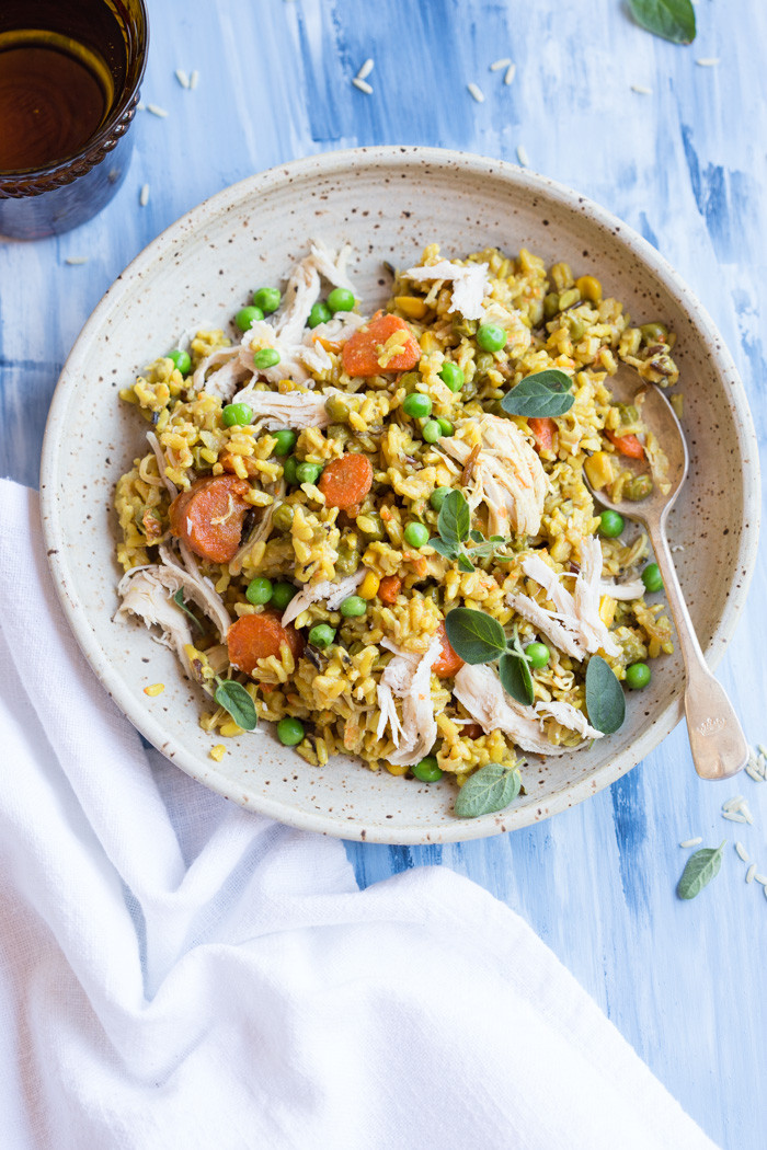 Instant Pot Rice Recipes  Instant Pot Chicken and Yellow Rice