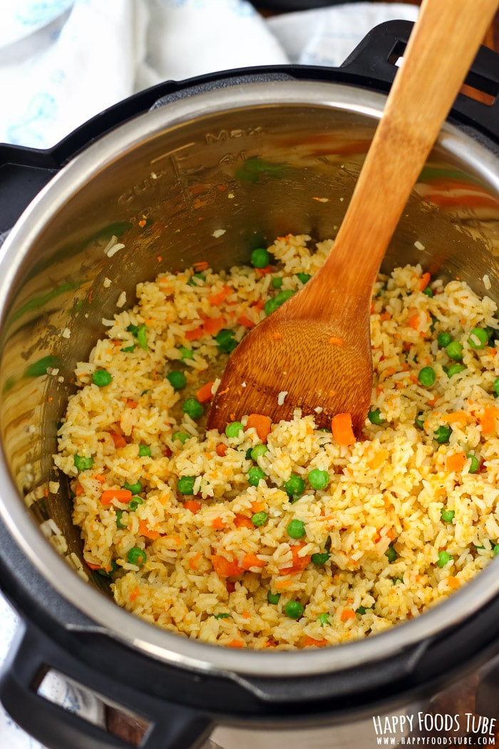 Instant Pot Rice Recipes  Instant Pot Fried Rice Pressure Cooker Fried Rice