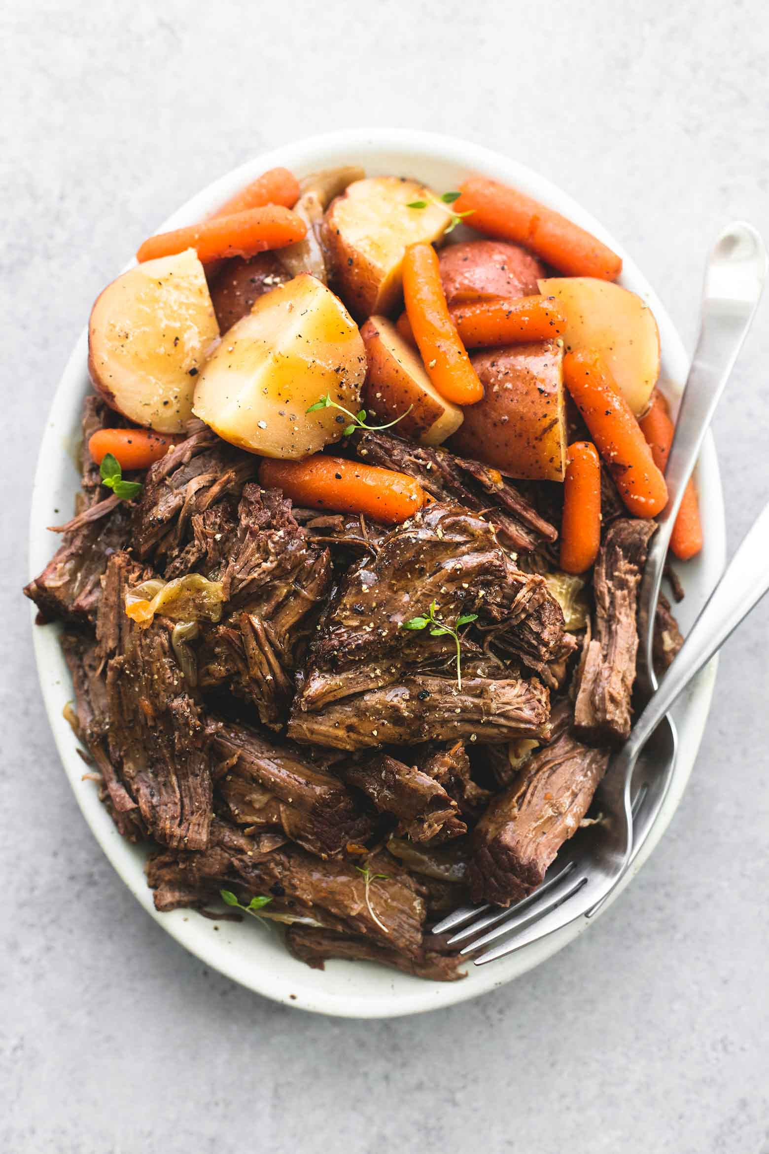 Instant Pot Roast Beef Recipes  Instant Pot Pot Roast and Potatoes TheDirtyGyro