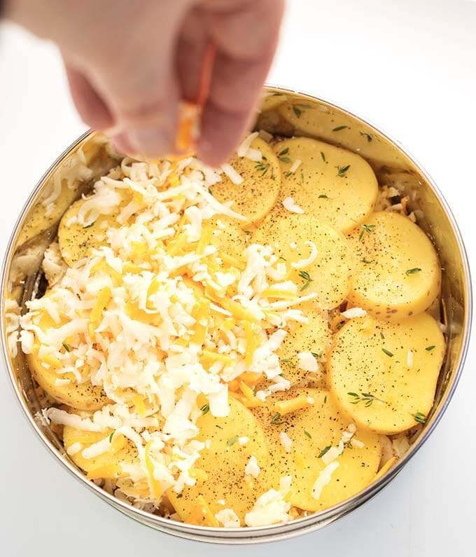 Instant Pot Scalloped Potatoes  Instant Pot Cheesy Scalloped Potatoes