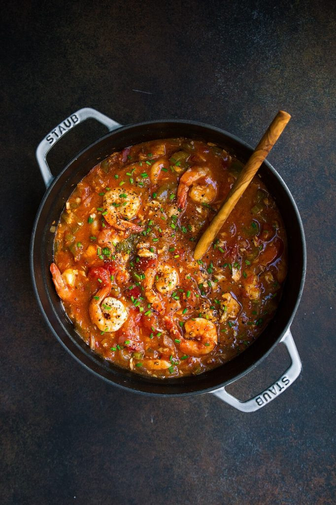 Instant Pot Seafood Recipes  Whole30 Instant Pot Seafood Gumbo
