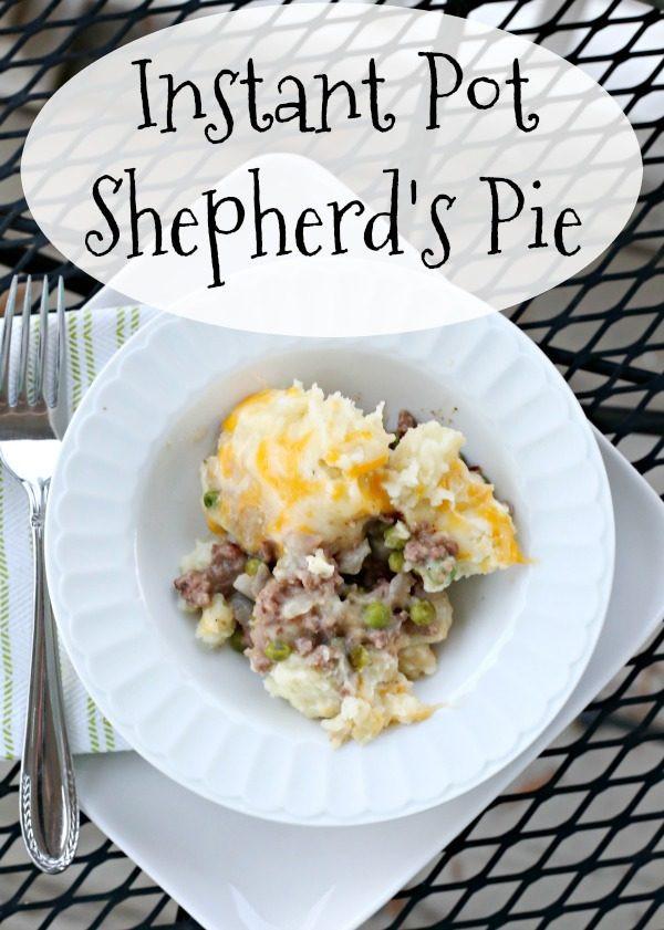 Instant Pot Shepherd'S Pie  Instant Pot Shepherd s Pie Clever Housewife