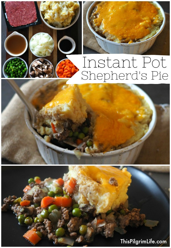 Instant Pot Shepherd'S Pie  Instant Pot Shepherd s Pie Take Two This Pilgrim Life