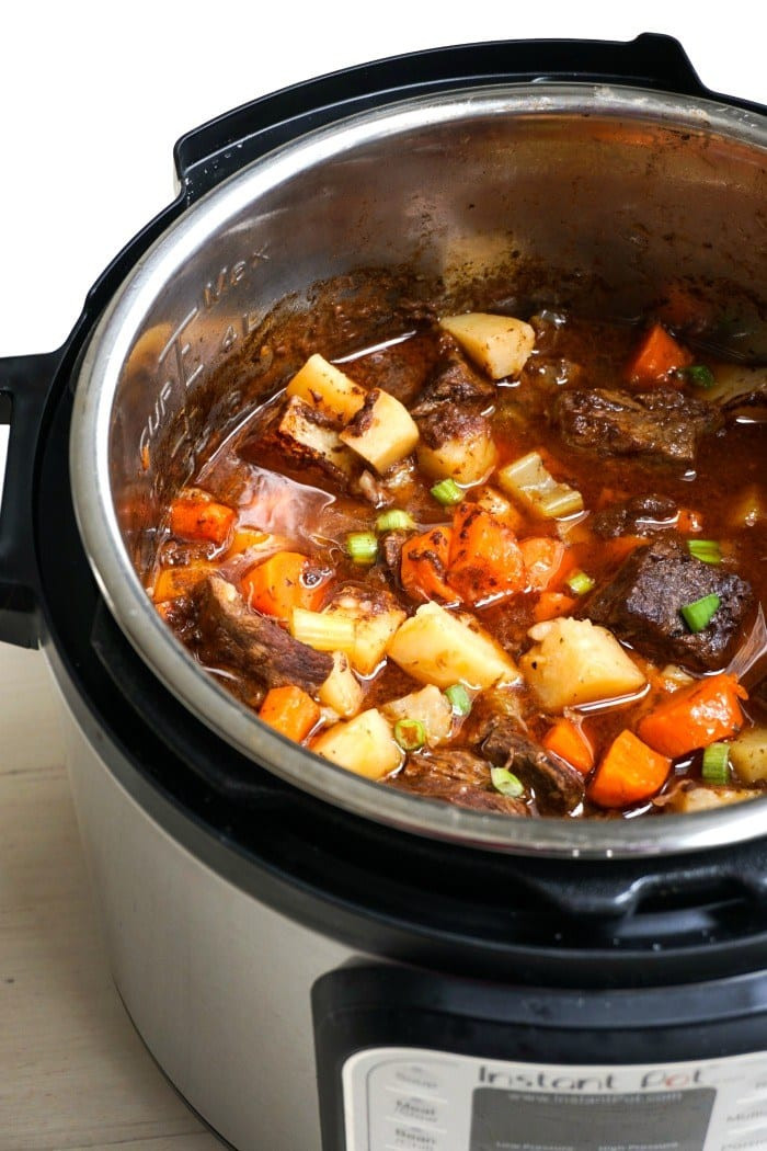 Instant Pot Stew Meat  Easy e Dish Healthy Instant Pot Recipes Amee s Savory Dish