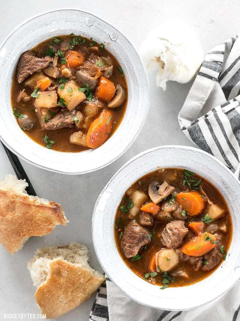 Instant Pot Stew Recipes  Instant Pot Beef Stew Bud Bytes