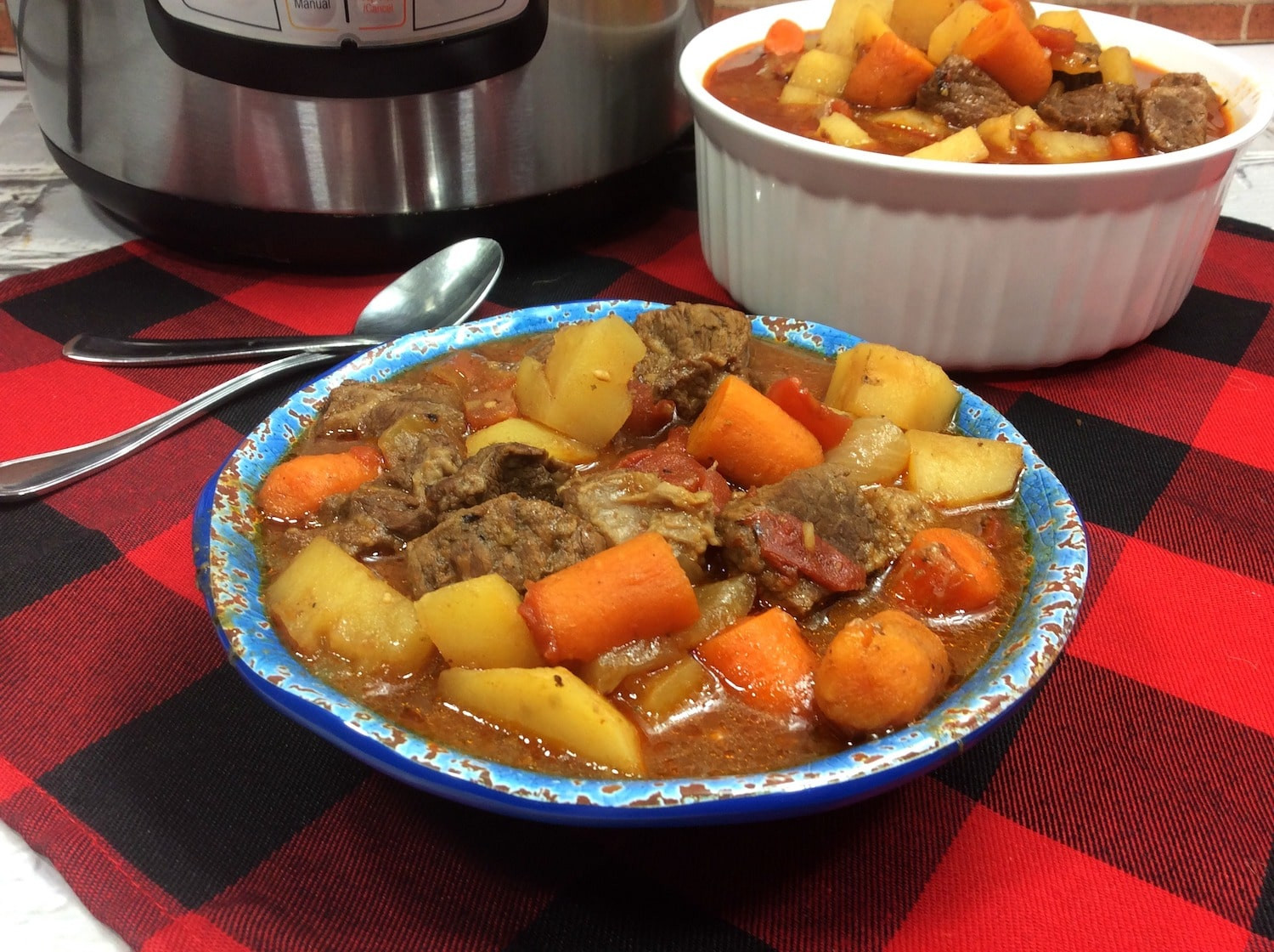 Instant Pot Stew Recipes  Instant Pot Beef Stew Recipe Lady and the Blog