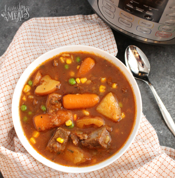 Instant Pot Stew Recipes  The Best Instant Pot Beef Stew Family Fresh Meals
