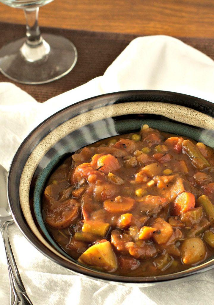 Instant Pot Stew Recipes  Instant Pot Veggie Stew Brand New Vegan