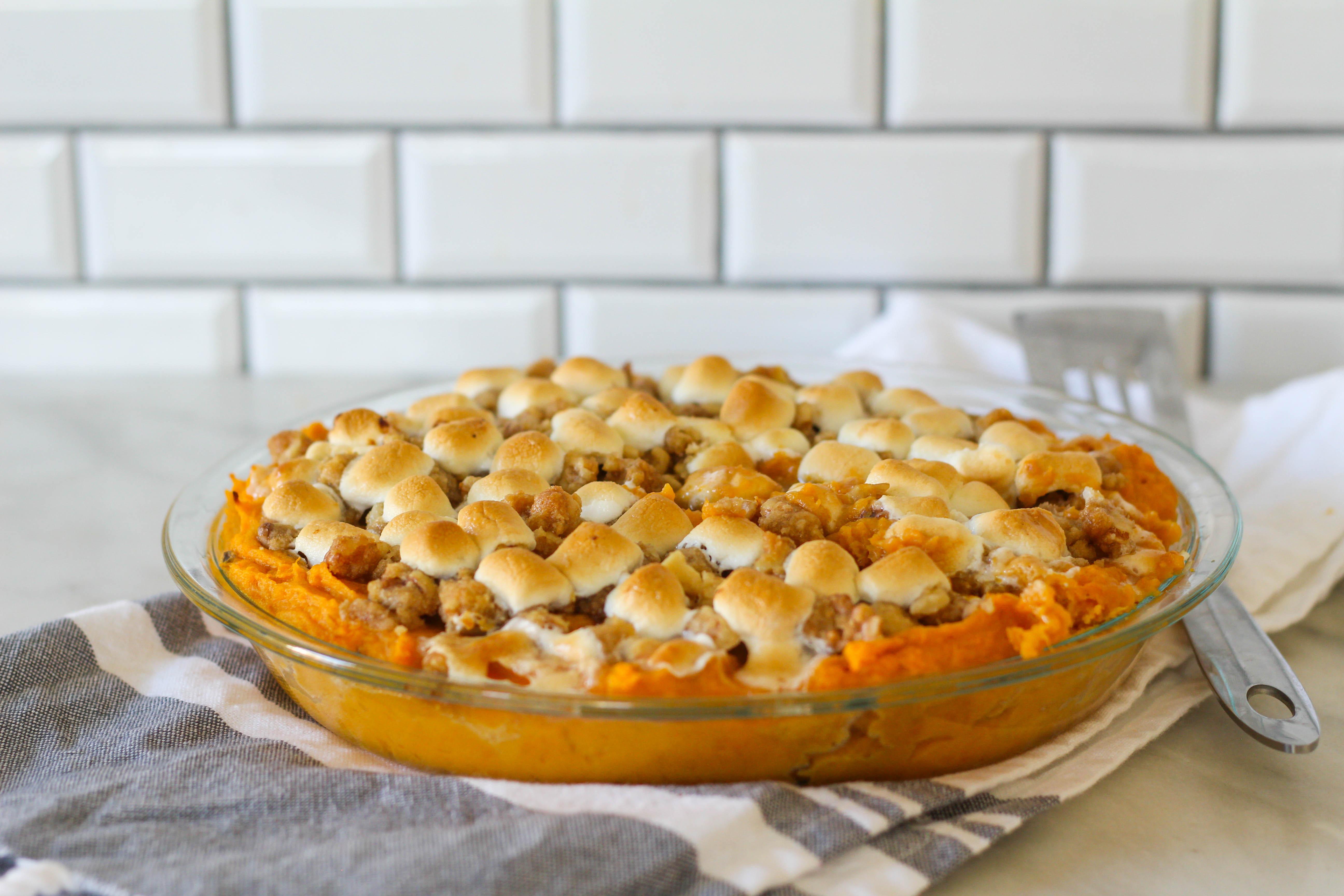 Instant Pot Sweet Potato Casserole  Instant Pot Sweet Potato Casserole Thanksgiving Sides