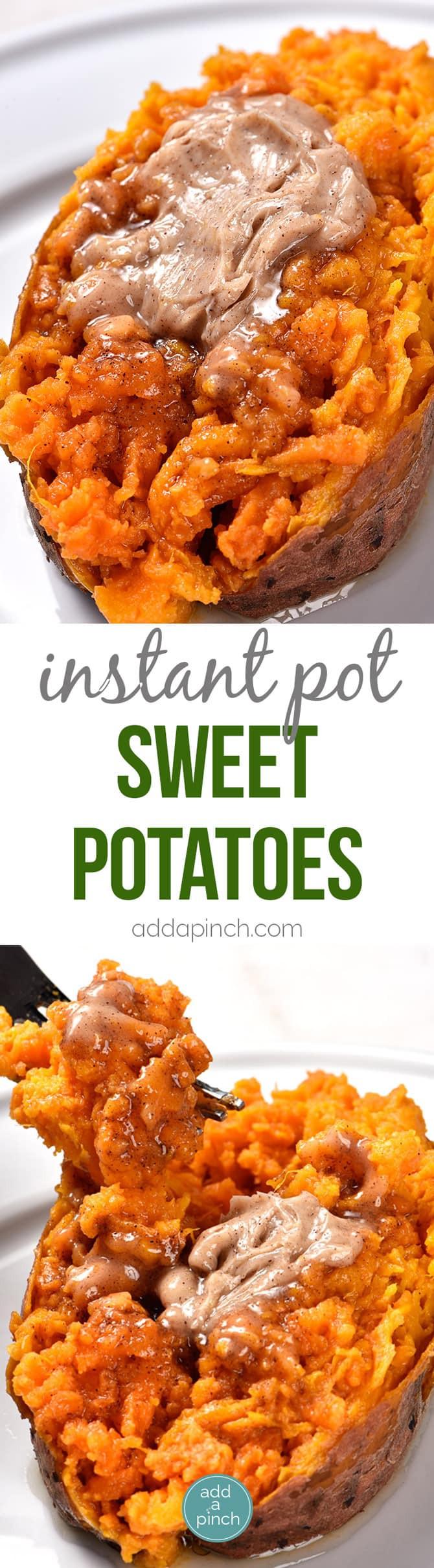 Instant Pot Sweet Potato Casserole  Instant Pot Sweet Potatoes Recipe Add a Pinch