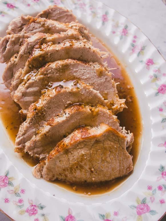 Instapot Pork Loin  Instant Pot Maple Glazed Pork Loin