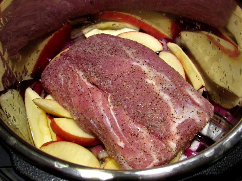 Instapot Pork Loin  Instant Pot Pork Loin and Ve ables Smokin Pete s BBQ