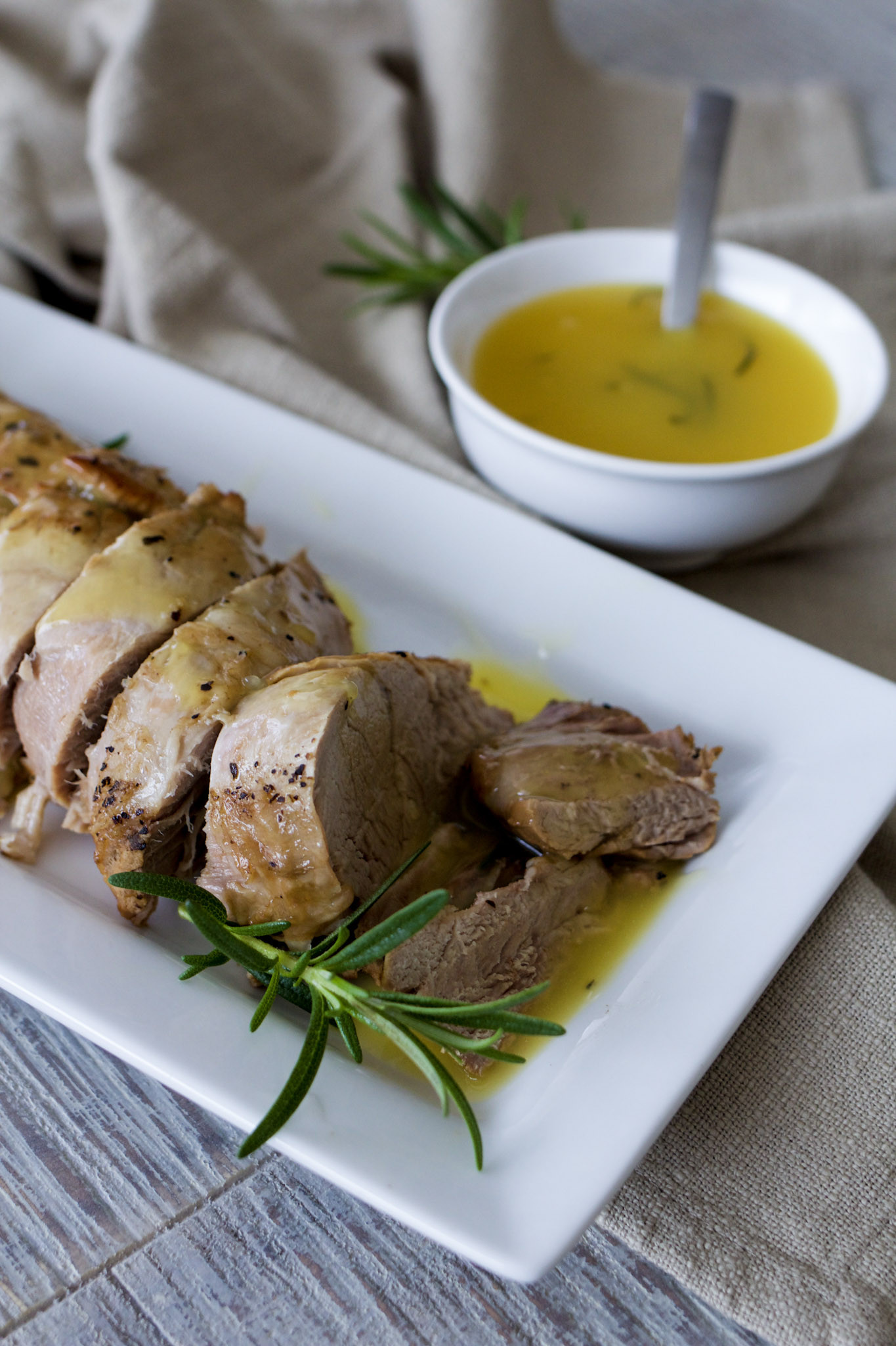 Instapot Pork Tenderloin  Instant Pot Pork Tenderloin with Orange Rosemary Glaze A