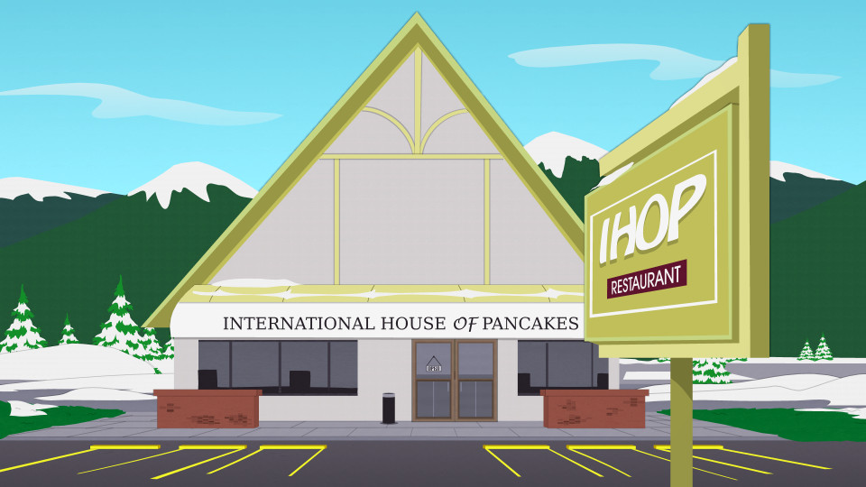International House Of Pancakes  International House of Pancakes ficial South Park