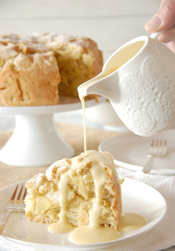 Irish Apple Cake  Unfor table Treats