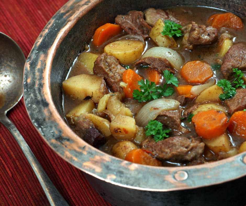 Irish Beef Stew  Irish Beef Stew and Saint Patrick s Day Giveaway An Alli