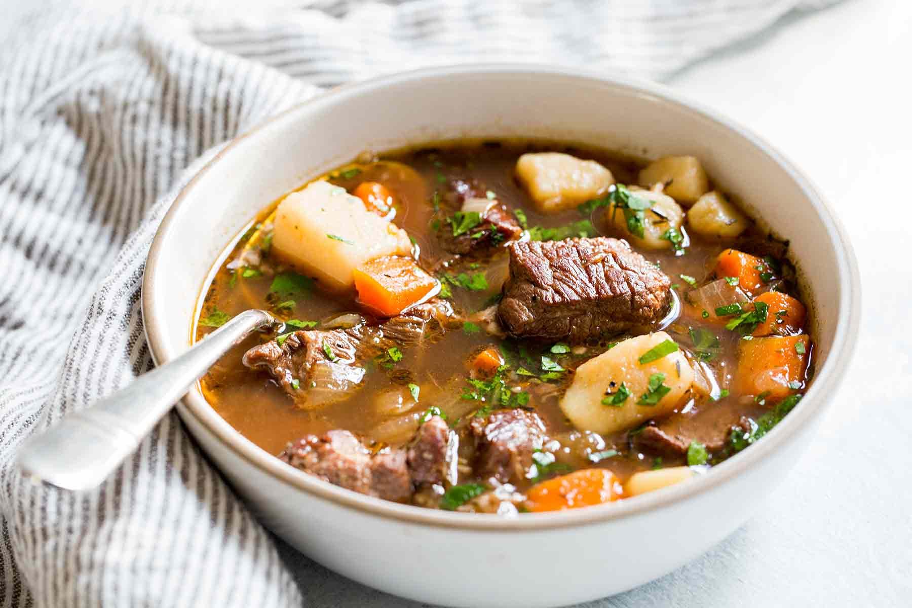 Irish Beef Stew  Irish Beef Stew Recipe with Video