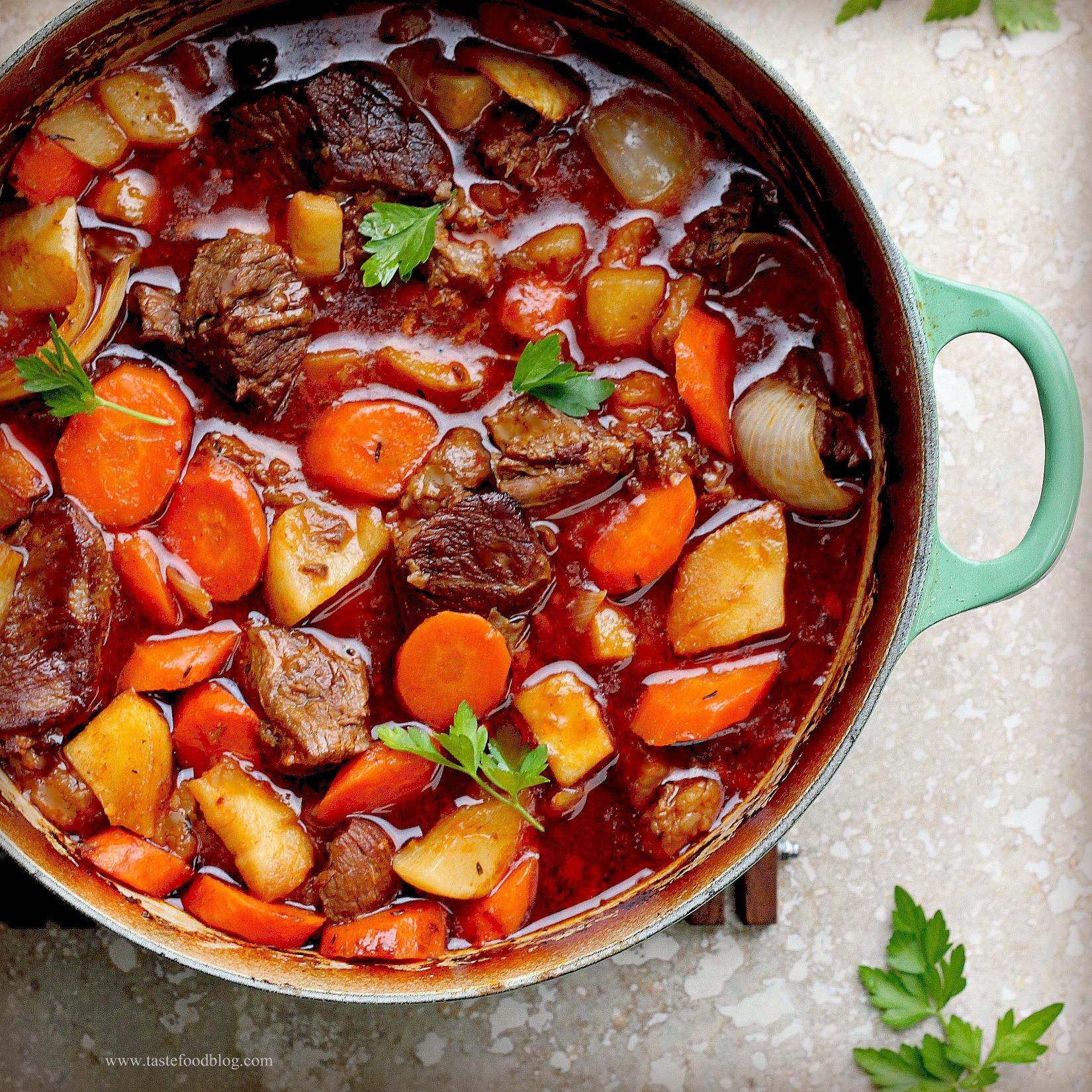 Irish Beef Stew  Irish Beef Stew Encore – TasteFood