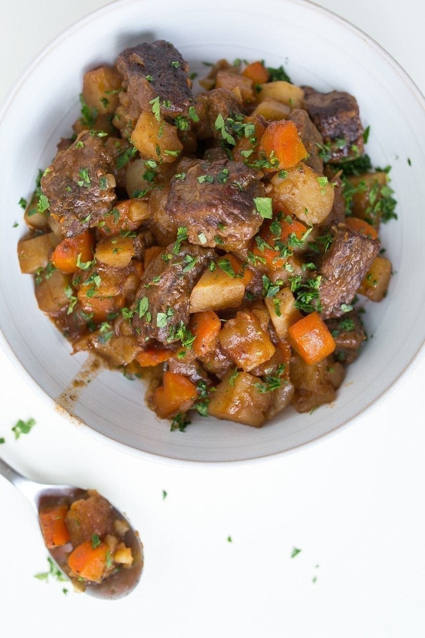 Irish Beef Stew  Slow Cooker Irish Beef Stew