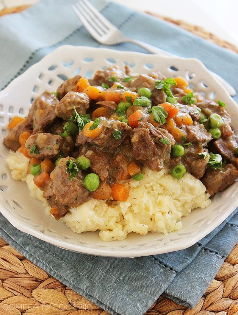 Irish Beef Stew  Irish Beef Stew with Mashed Potatoes