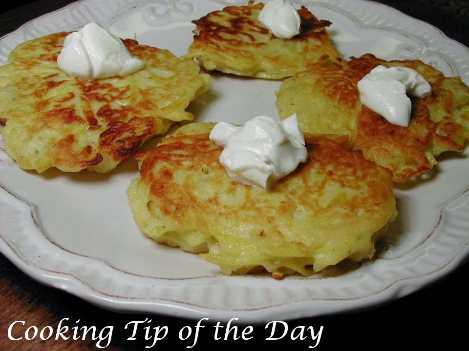 Irish Potato Pancakes  Cooking Tip of the Day Boxty Irish Potato Pancakes