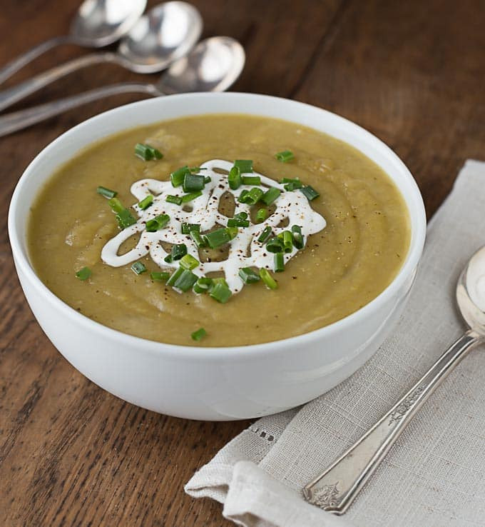 Irish Potato Soup  Irish Potato Leek Soup Analida s Ethnic Spoon