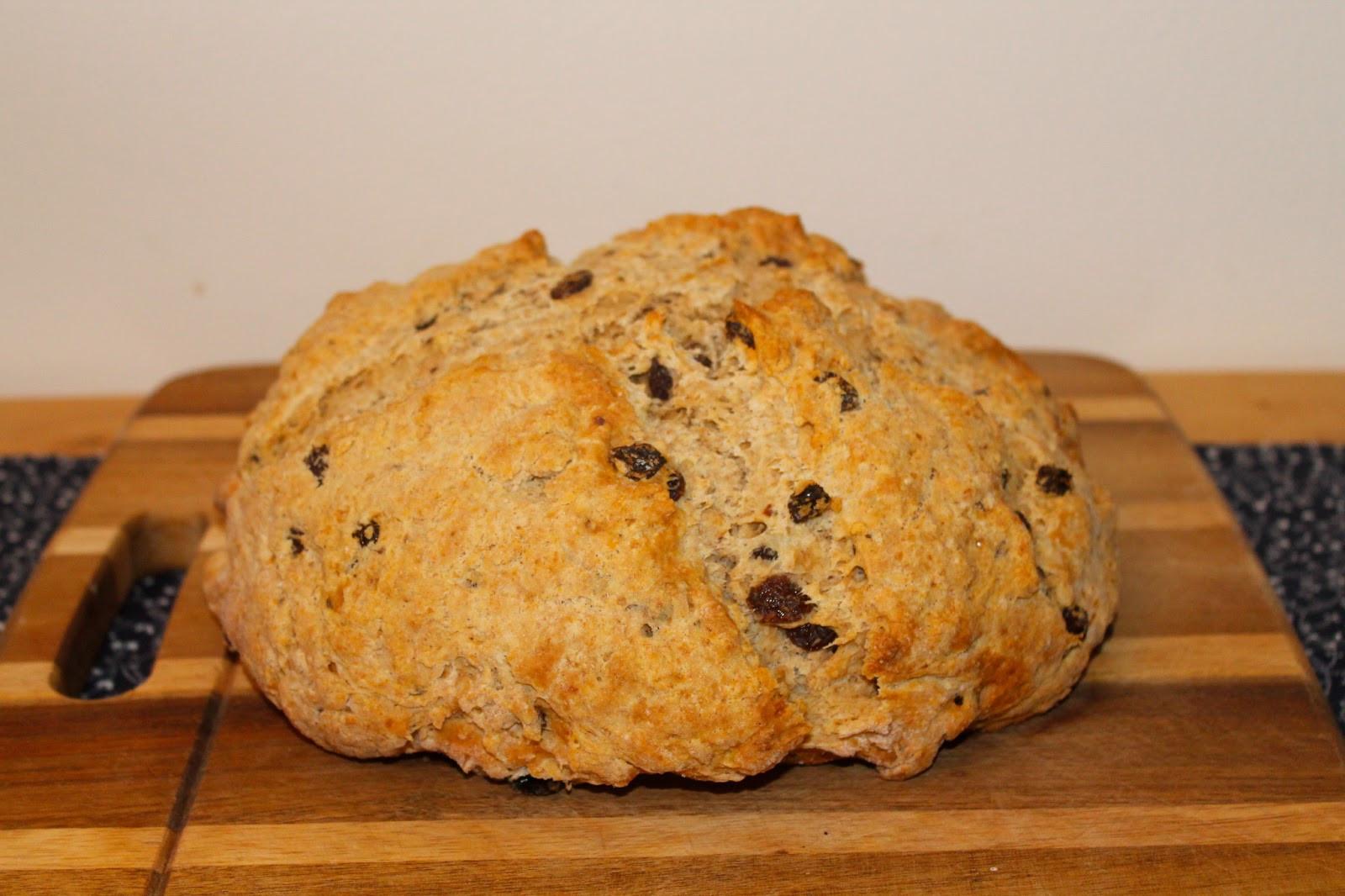 Irish Soda Bread With Raisins  Savory Moments Irish soda bread with whiskey raisins and