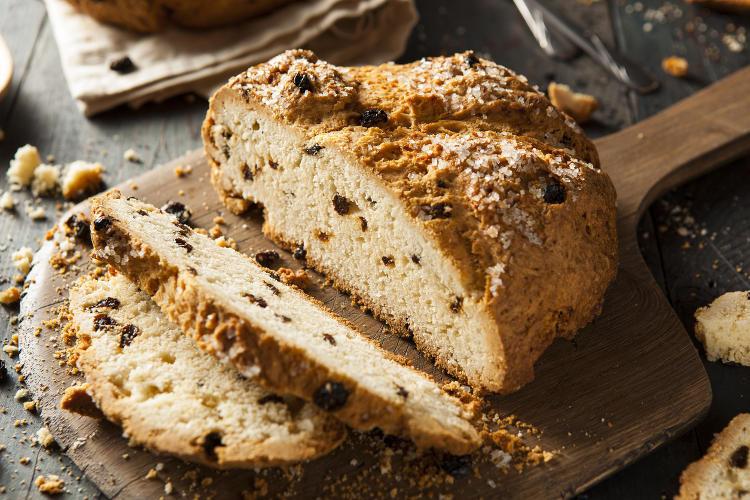 Irish Soda Bread With Raisins  Celebrate St Patrick s Day with Traditional Food Irish