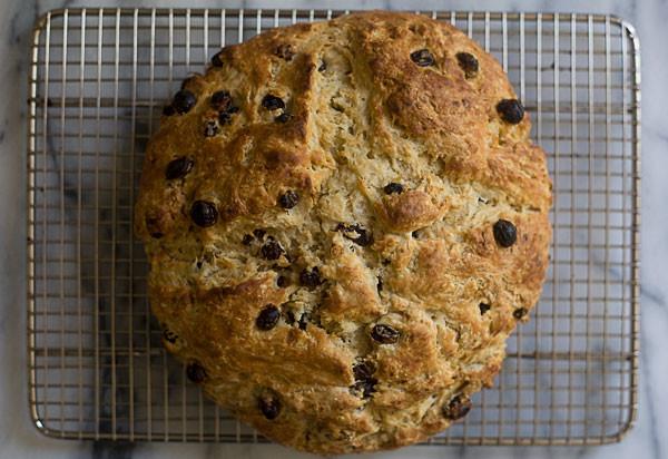 Irish Soda Bread With Raisins  Irish Soda Bread with Whiskey Soaked Raisins – A Cozy Kitchen