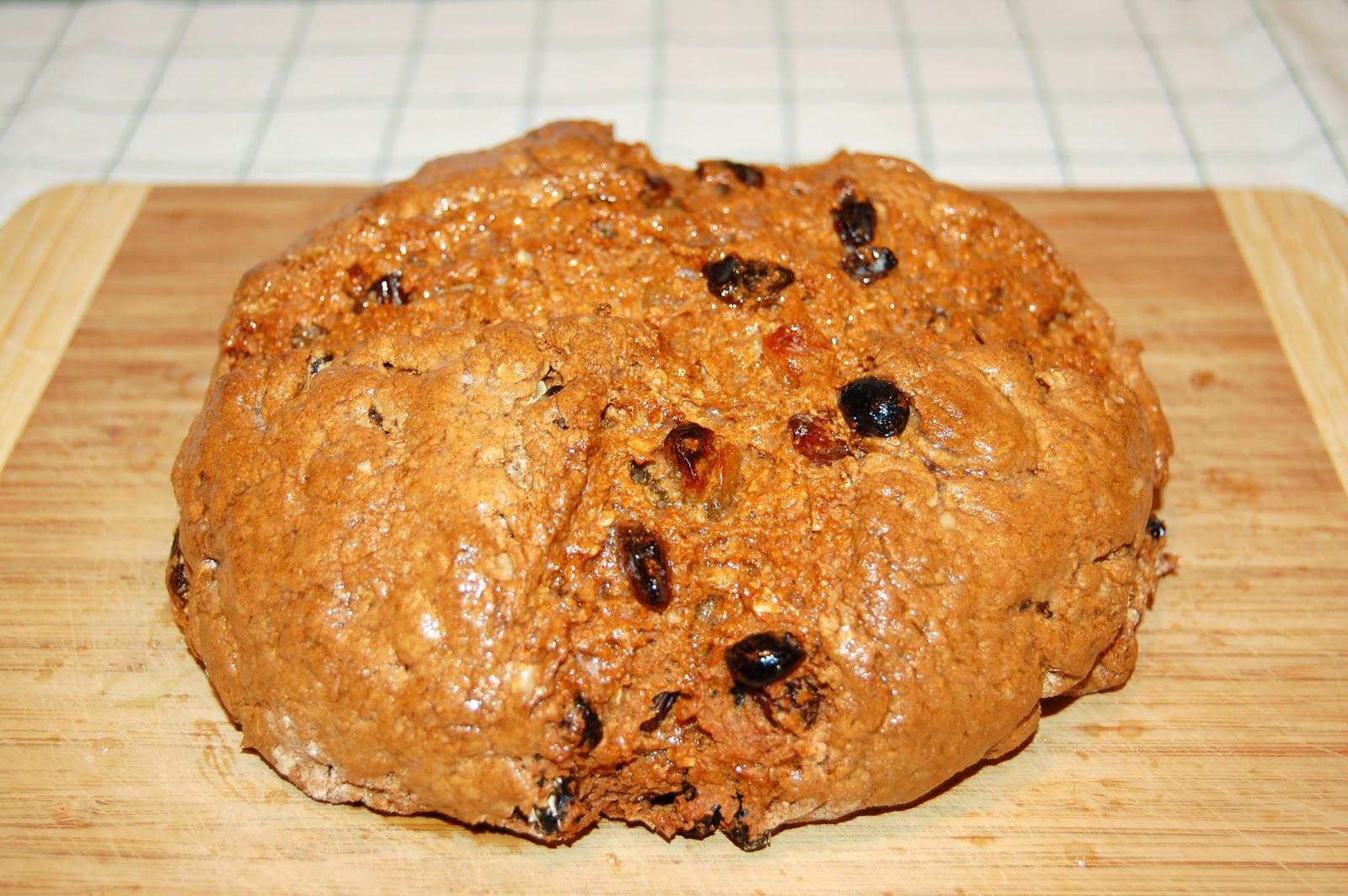 Irish Soda Bread With Raisins  Southern Lady s Recipes Irish Soda Bread with Raisins