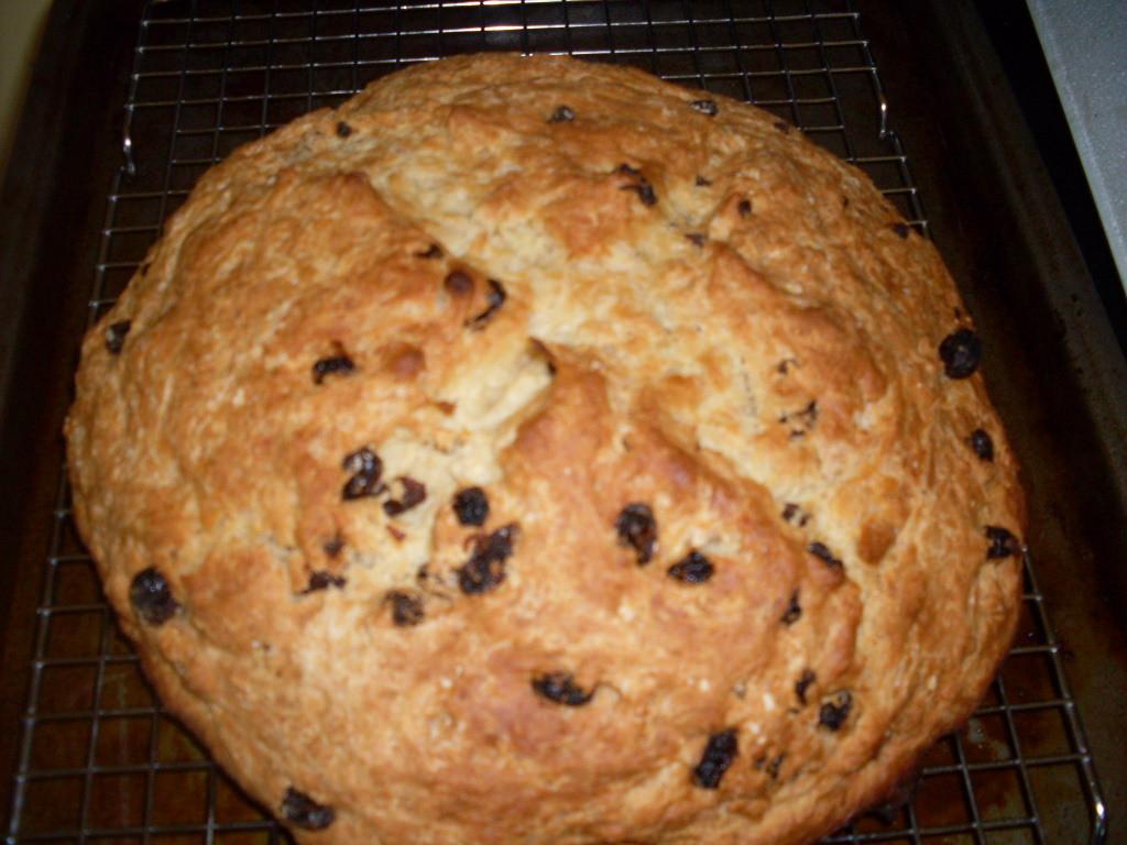 Irish Soda Bread With Raisins  irish soda bread with raisins