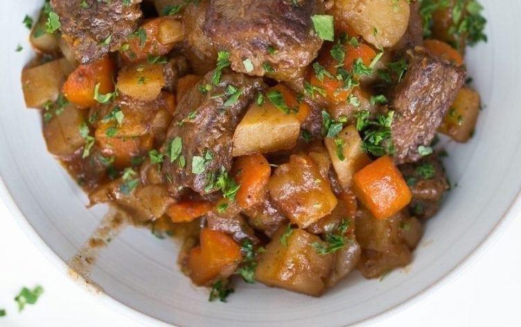 Irish Stew Slow Cooker  Slow Cooker Irish Beef Stew
