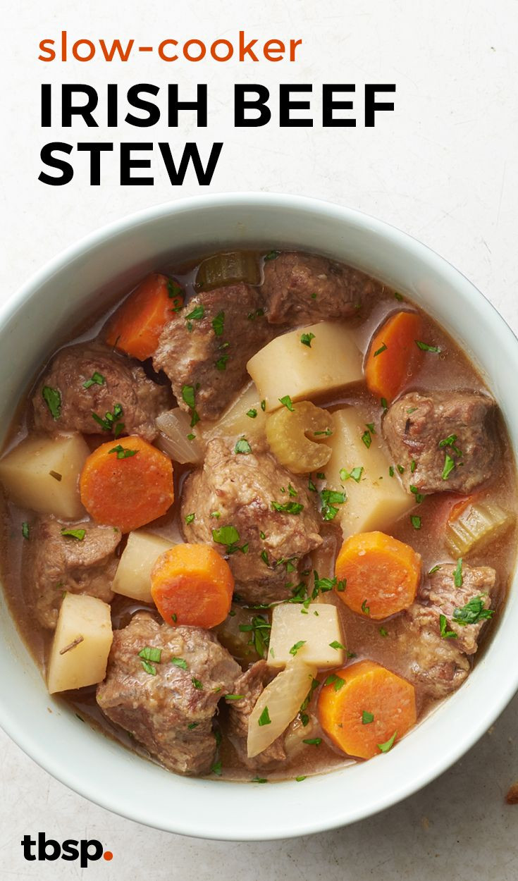 Irish Stew Slow Cooker  Slow Cooker Irish Beef Stew Recipe