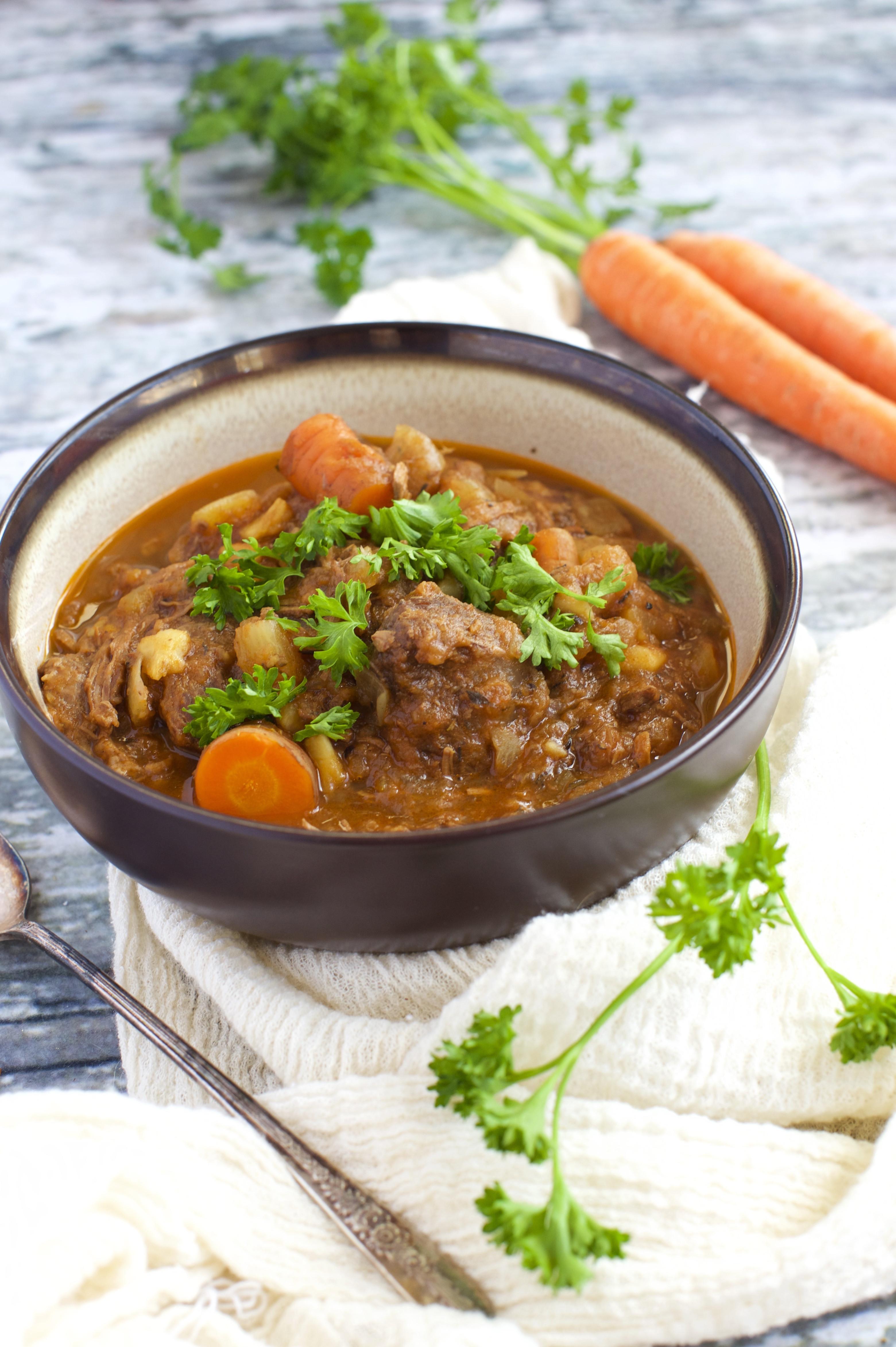 Irish Stew Slow Cooker  Paleo Slow Cooker Irish Stew Recipe Simply So Healthy