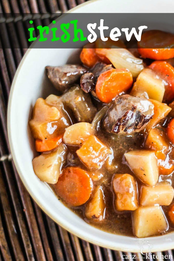 Irish Stew Slow Cooker  Slow Cooker Irish Stew Catz in the Kitchen