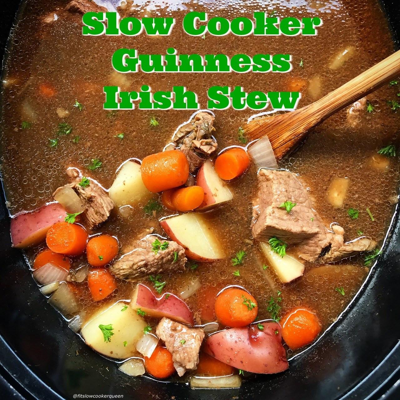 Irish Stew Slow Cooker  Slow Cooker Guinness Irish Stew Fit Slow Cooker Queen