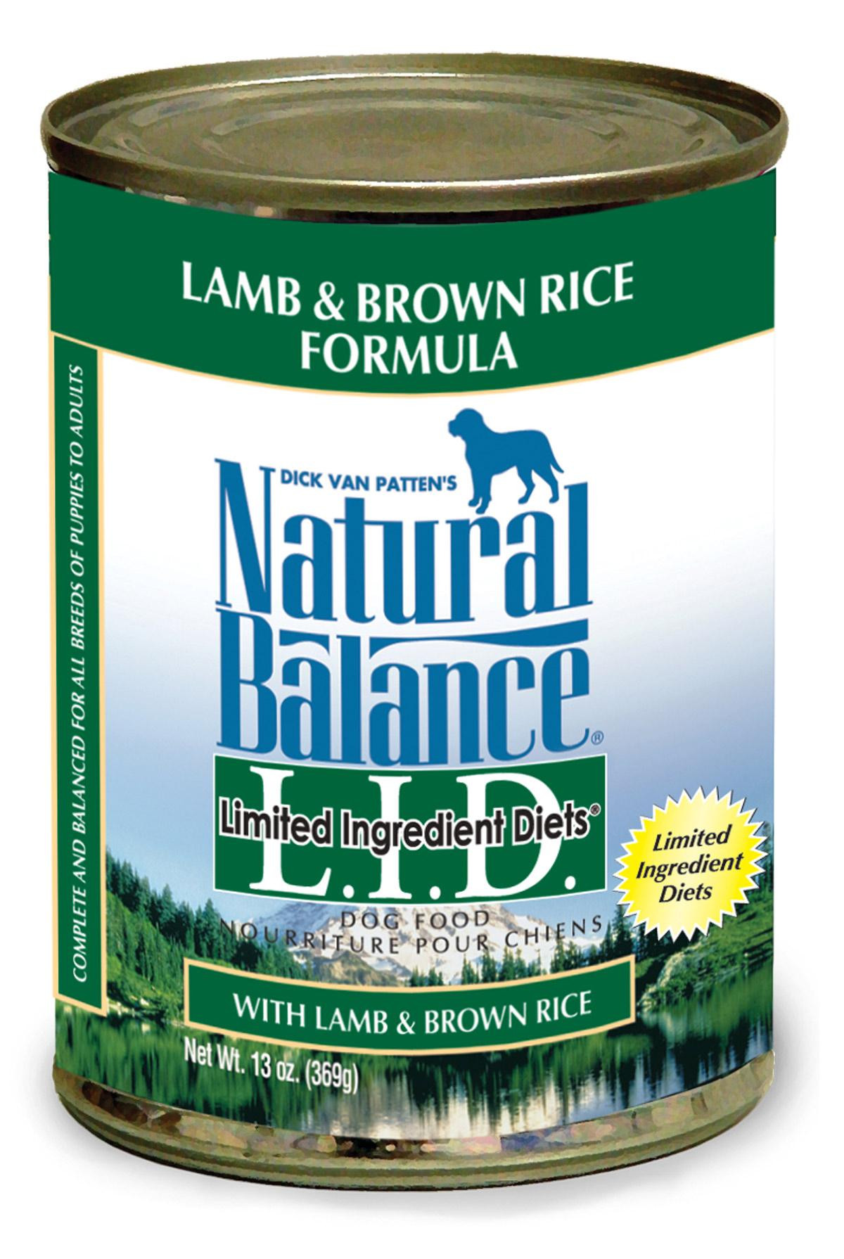 Is Brown Rice Good For Dogs  Natural Balance Limited Ingre nt Diets Lamb and Brown