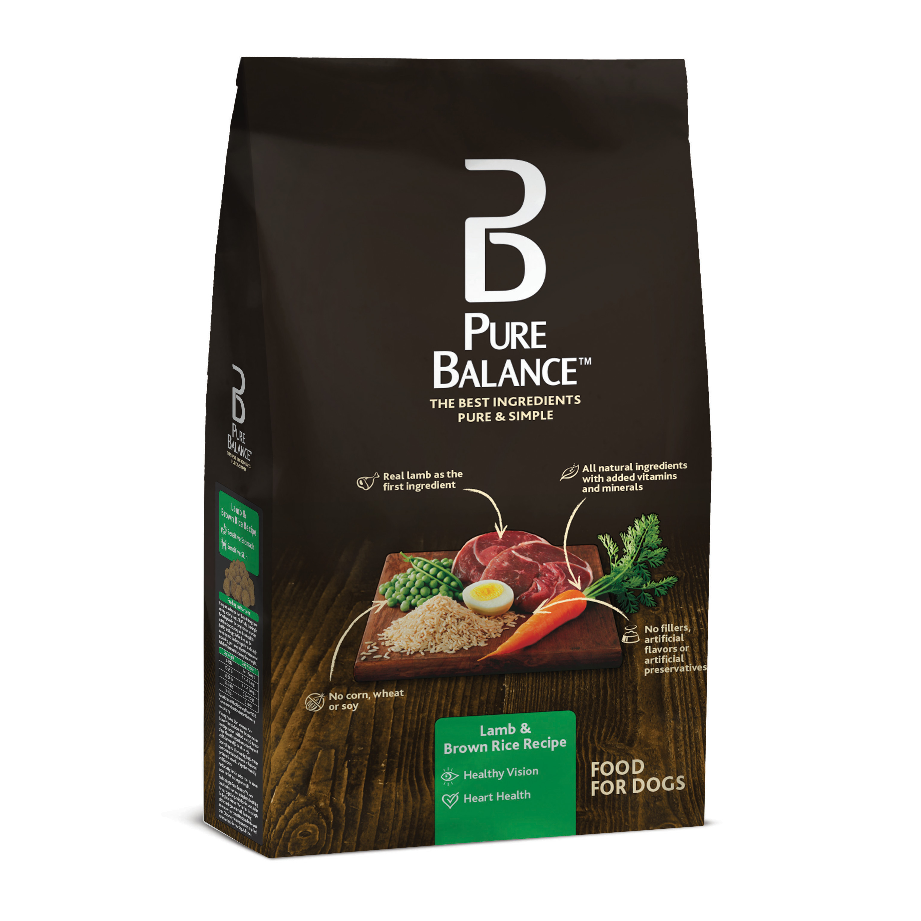 Is Brown Rice Good For Dogs  Pure Balance Dog Food Chicken & Brown Rice Recipe 30 lb
