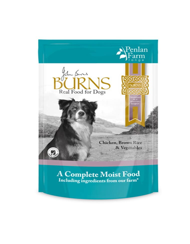 Is Brown Rice Good For Dogs  Burns Penlan Farm – Chicken Ve ables and Brown Rice 6 x