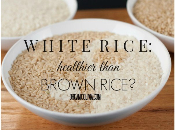 Is Brown Rice Healthier Than White Rice  Is White Rice Better Than Brown Rice Organic Olivia