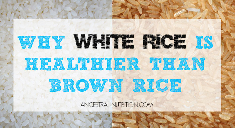 Is Brown Rice Healthier Than White Rice  Why White Rice Is Healthier Than Brown Rice And Why It s