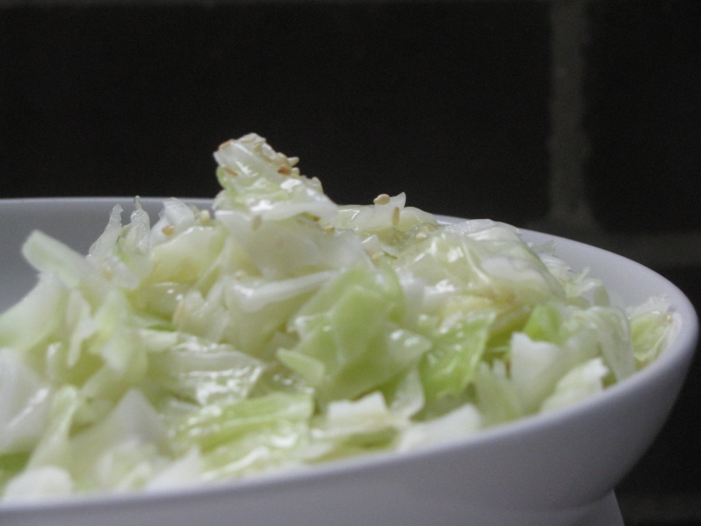 Is Cabbage Healthy  Healthy recipe for Cabbage and Sesame salad