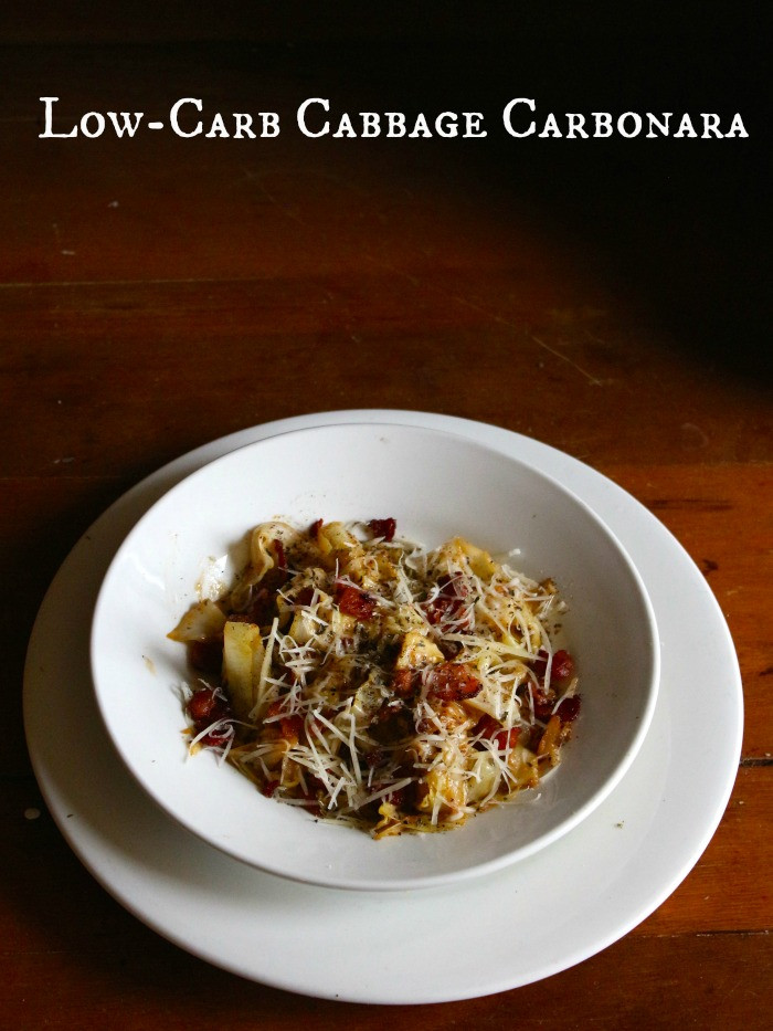 Is Cabbage Low Carb  Low Carb Cabbage Carbonara Recipe lowcarb ology