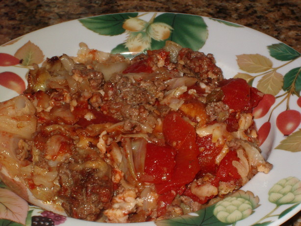 Is Cabbage Low Carb  Low Carb Stuffed Cabbage Casserole Recipe Food