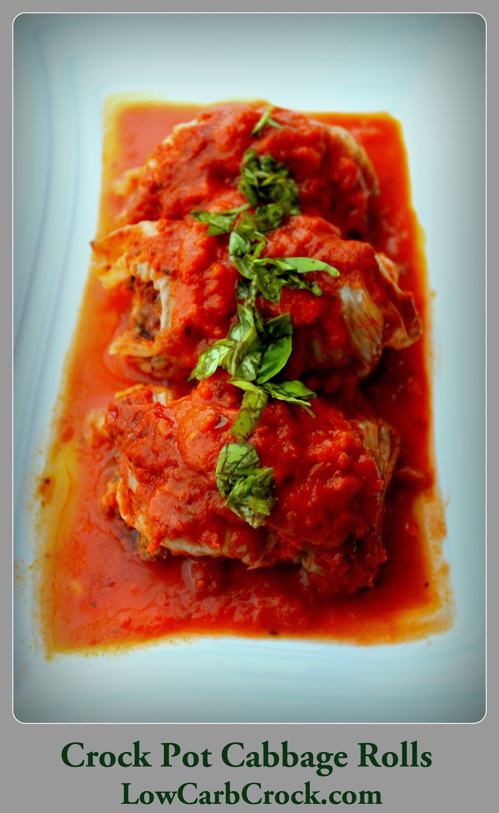 Is Cabbage Low Carb  Low Carb Crock Pot Cabbage Rolls – Easy