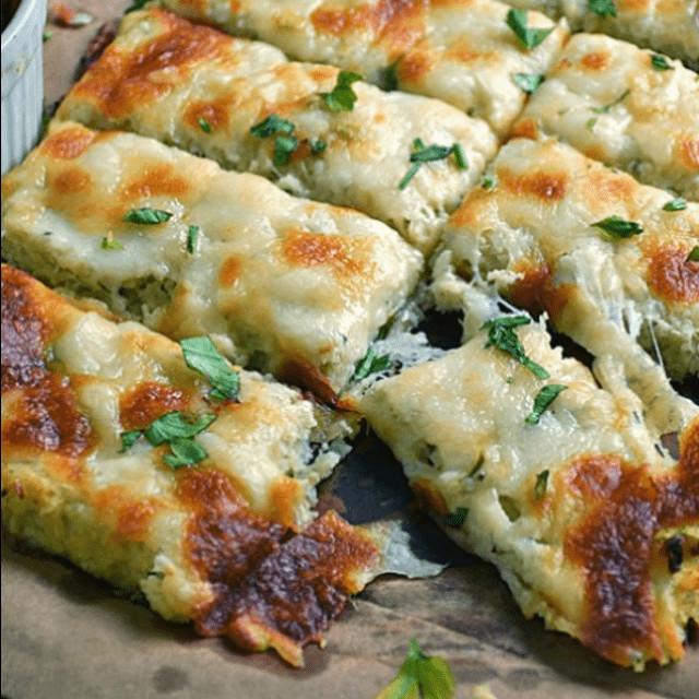 Is Cauliflower Low Carb Low Carb Cauliflower Breadsticks ⋆ Real Housemoms