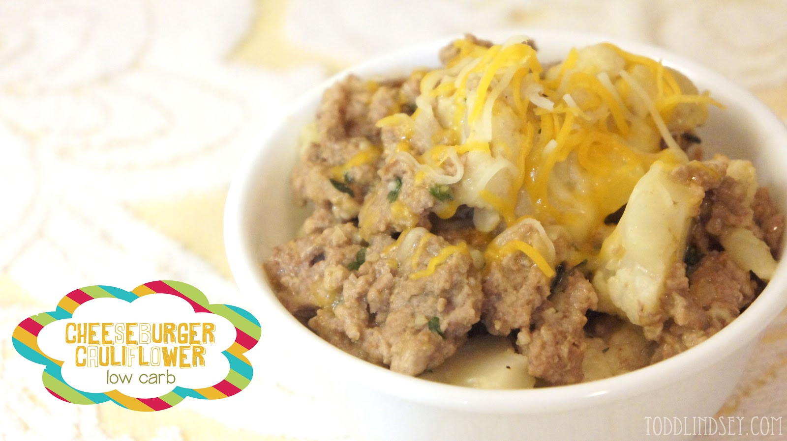 Is Cauliflower Low Carb Domer Home Cheeseburger Cauliflower Low Carb