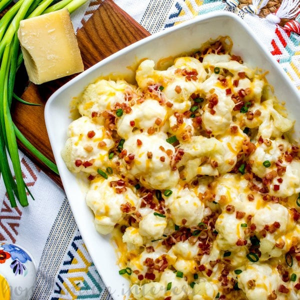 Is Cauliflower Low Carb low carb cauliflower casserole with cream cheese