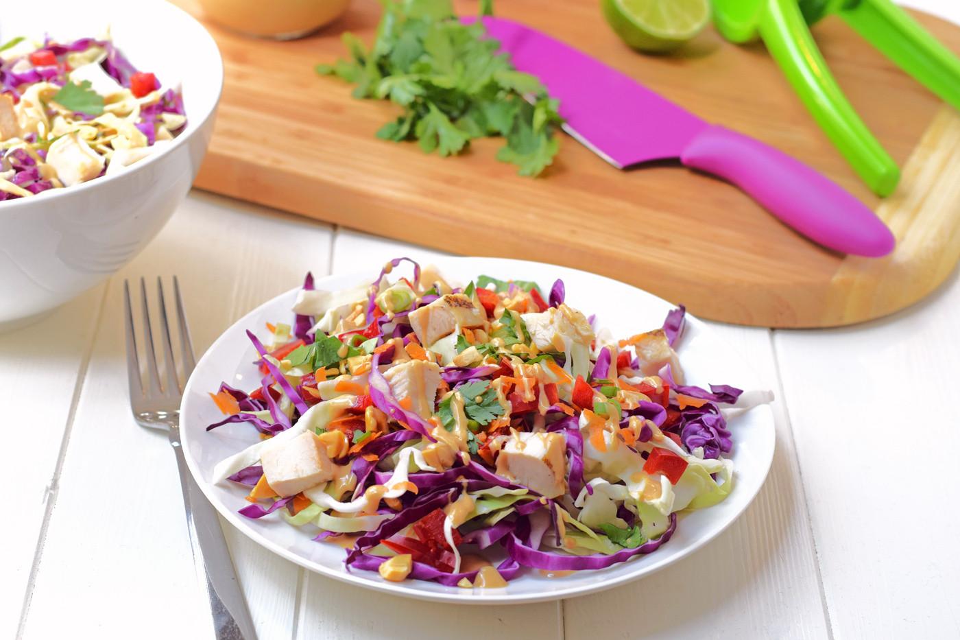 Is Chicken Salad Healthy  Rainbow Chicken Salad